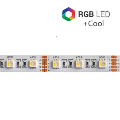 STRIP LED CC30096 RGBW 4IN1 19.2W/MT IP65-TR 24V RGB+6000K (EX 2958)