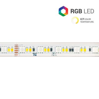 STRIP LED CC900144 28.8W/MT IP67 24V RGB+CCT