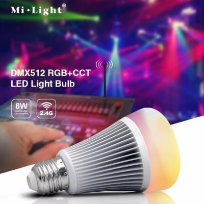 BULBO LED E27 8W DMX512 RGB+CCT MI LIGHT FUTD03