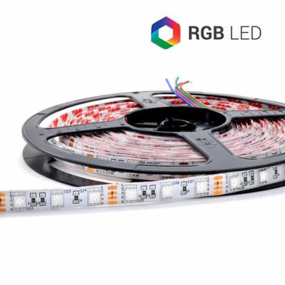 STRIP LED 300SMD5050 RGB IP65 24V