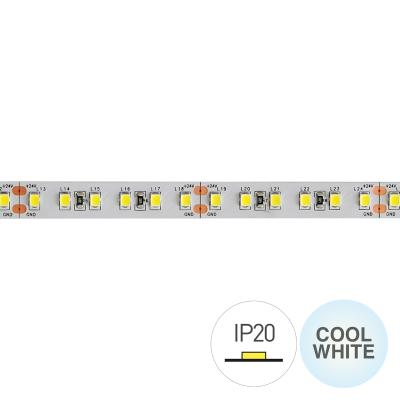 STRIP LED CL60048 2835 9.6W/MT IP20 24V 6000K(EX 2433)