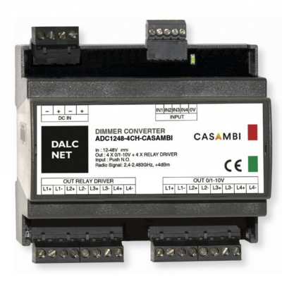 DALCNET ADC1248-4CH-CASAMBI