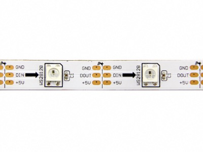 STRIP DIGITALE 150SMD5050 WS2812B 1:1 5V IP20 RGB