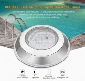 MI-LIGHT SYS-RW1 LAMPADA DA PISCINA 12W RGB+CCT IP68