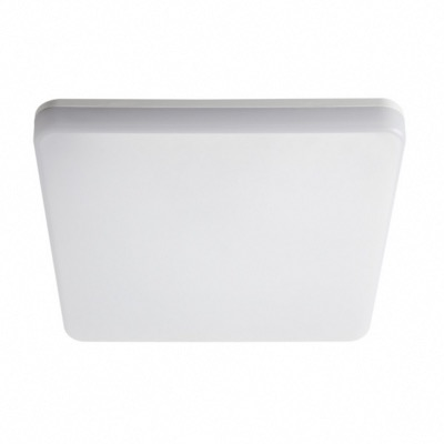 KANLUX APPLIQUE SOFFITTO VARSO LED QUADRATO 24W 4000K SENSORE 26983