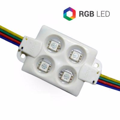 MODULO NEW 4SMD5050 80 LMEN RGB IP66