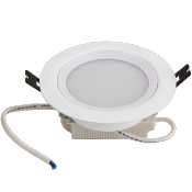 PLAFONIERA LED PERLATO 8W CALDO 100MM