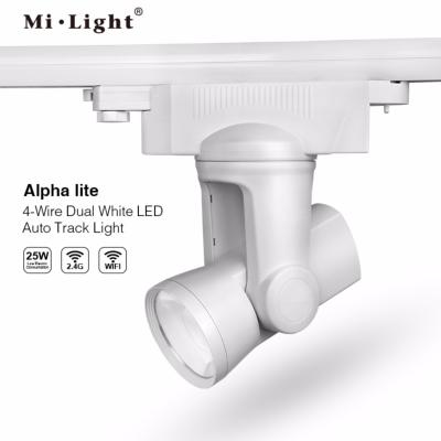 FARETTO DA BINARIO TRIFASE 25W ALPHA LITE CCT MI LIGHT AL5