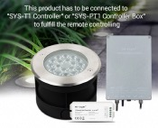 MI-LIGHT SYS-RD2 INGROUND LED 9W RGB+CCT