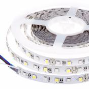 STRIP LED 300SMD5050 RGB-WW 5m 72W 24V IP20