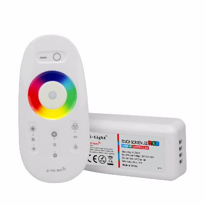 KIT CONTROLLER RGB FULL TOUCH 10A MI LIGHT FUT025