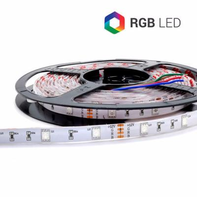 STRIP LED CC15036 RGB 7.2W/MT IP65 12V