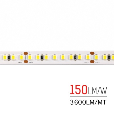 STRIP LED HE800130 150LM/W 26W/MT 24V IP65 6000K(10000K+)